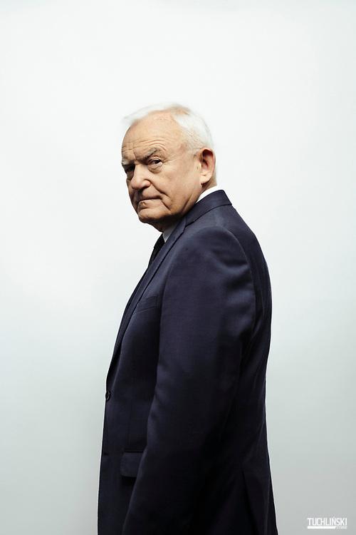 Warszawa, Polska. 30.04.2019r.<br /> Leszek Miller - polityk, europoseł,  były premier RP.   <br /> Fot. Adam Tuchlinski