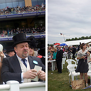 As the gap between the British rich and the poor grows. Nowhere is the class system more personified than at Royal Ascot, one of the most famous race meetings in the world, a reflection of English society and it's class system. The race meeting is frequented by Royalty and members of the upper class along with thousands of working class race goers. It's strict dress code insist men dress in top hat and tails in selected areas of the course as it continues a centuries old tradition of class segregation. June 16-20th, 2009. Photo Tim Clayton