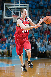 2005 February 03:    Andrew Brackman during a 95-71 victory over North Carolina State at the Dean Smith Center on the campus of the University of North Carolina in Chapel Hill, NC.Mandatory Credit: Peyton Williams/accphotos.com