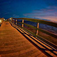 The Safety Harbor Pier.