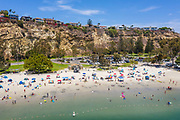 Summer at Baby Beach in Dana Point Harbor
