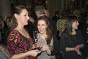 LUCY WALFORD AND NATALIE COOK, The Tatler Travel Awards 2008. The Ritz, Piccadilly. London. 3 December 2007. -DO NOT ARCHIVE-© Copyright Photograph by Dafydd Jones. 248 Clapham Rd. London SW9 0PZ. Tel 0207 820 0771. www.dafjones.com.