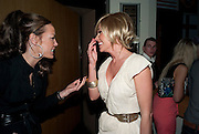 TARA PALMER-TOMPKINSON; JENNY FROST;, Walkers party to launch 15 new flavours of crisps. Orchid, Coventry St. Leicester Sq. London.  29 March 2010