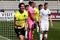 Ash Palmer. Boreham Wood FC 0-3 Stockport County. Vanarama National League. Meadow Park. 24.4.21