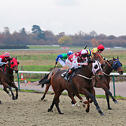 Forest Edge and Adam Kirby winning the 1.00 race
