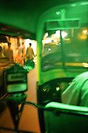 In a rickshaw, Mumbai, India