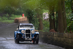 Boness Revival hillclimb motorsport event in Boness, Scotland, UK. The 2019 Bo'ness Revival Classic and Hillclimb, Scotland's first purpose-built motorsport venue, it marked 60 years since double Formula 1 World Champion Jim Clark competed here.  It took place Saturday 31 August and Sunday 1 September 2019. 121. Andrew Scott. Triumph Gloria.