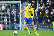 Leeds United Defender Luke Ayling (2) during the The FA Cup match between Queens Park Rangers and Leeds United at the Loftus Road Stadium, London, England on 6 January 2019.