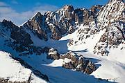 Rugged ridge below Mount Sneffels, San Juan Mountains, Colorado.