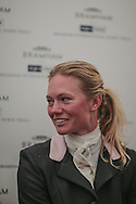 Lauren Shannon (USA) who came second in the Equi-Trek CCI competition at Bramham International Horse Trials 2016 at  at Bramham Park, Bramham, United Kingdom on 12 June 2016. Photo by Mark P Doherty.
