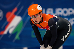 Short tracker Suzanne Schulting wins the 1500 meter semifinals during ISU European Short Track Speed Skating Championships 2020 on January 25, 2020 in Fonix Hall, Debrecen, Hungary