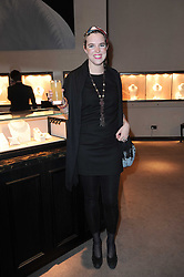 VICTORIA AITKEN at a party to celebrate the publication of Nathalie Von Bismarck's  book 'Invisible' held at Asprey, 167 New Bond Street, London on 9th December 2010.