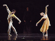 Boston Ballet performs during the Dress Rehearsal of Romeo and Juliet.