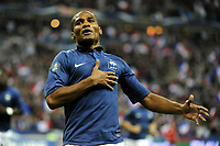 FOOTBALL - UEFA EURO 2012 - QUALIFYING - GROUP D - FRANCE v ALBANIA - 7/10/2011 - PHOTO JEAN MARIE HERVIO / DPPI - JOY FLORENT MALOUDA (FRA) AFTER HIS GOAL