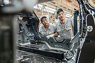 CHINA / Wuhan  / 10/06/2015<br /> <br /> Renault Plant in Wuhan <br /> © Daniele Mattioli for Capa Pictures