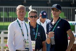 Guery Jerome, BEL, Staut Kevin, FRA<br /> Olympic Games Rio 2016<br /> © Hippo Foto - Dirk Caremans<br /> 17/08/16