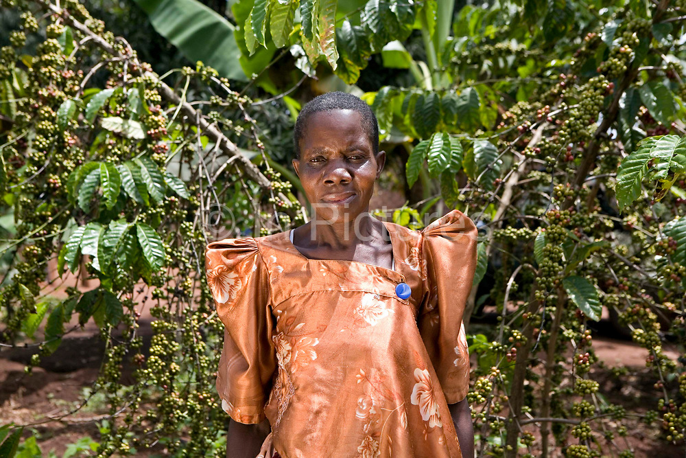 Joelia Namatobu a project farmer with Kulika in the Kamuli region of Uganda. Joelia is being trained as part of the Kulika project that run a Sustainable Organic Agricultural Training Program.
