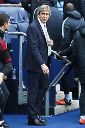 Manchester City Manager, Manuel Pellegrini  - Mandatory byline: Matt McNulty/JMP - 07966 386802 - 31/10/2015 - FOOTBALL - City of Manchester Stadium - Manchester, England - Manchester City v Norwich City - Barclays Premier League