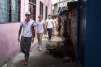 One Direction visit Agbogbloshie slum, Accra
