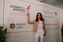 May 19, 2017 - Rome, italy, Italy - Inaugurated this morning with the presence of the President of Naples, De Laurentiis and Mariagrazia Cucinotta, the ''Village of Health, Sport and Wellness'' set up in the majestic framework of the Circus Maximus, organized by Susan G. Komen Italia, in collaboration with the Fondazione Policlinico A. Twins, and thanks to the contribution of the Johnson & Johnson Foundation. (Credit Image: © Cosimo Martemucci/Pacific Press via ZUMA Wire)