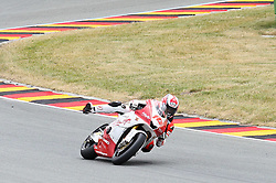 17.07.2010, Sachsenring, GER, MotoGP, Deutschland Grand Prix 2010, im Bild Ratthapark WILAIROT hai Honda PTT Singha SAG #14), Moto2 EXPA Pictures © 2010, PhotoCredit: EXPA/ nph/  Hammes+++++ ATTENTION - OUT OF GER +++++ / SPORTIDA PHOTO AGENCY
