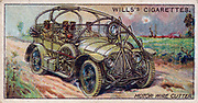 Military Motors series, 1916:  French Motor Wire Cutter.