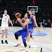 Anadolu Efes's and FC Bayern Munich's during their Turkish Airlines Euroleague Basketball Regular Season Round 11 match Anadolu Efes between FC Bayern Munich at the Sinan Erdem Dome on November 29, 2019 in Istanbul, Turkey. Photo by Aykut AKICI/TURKPIX