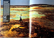 Geo magazine - from the collection of the best photos of the magazine published in 2014.