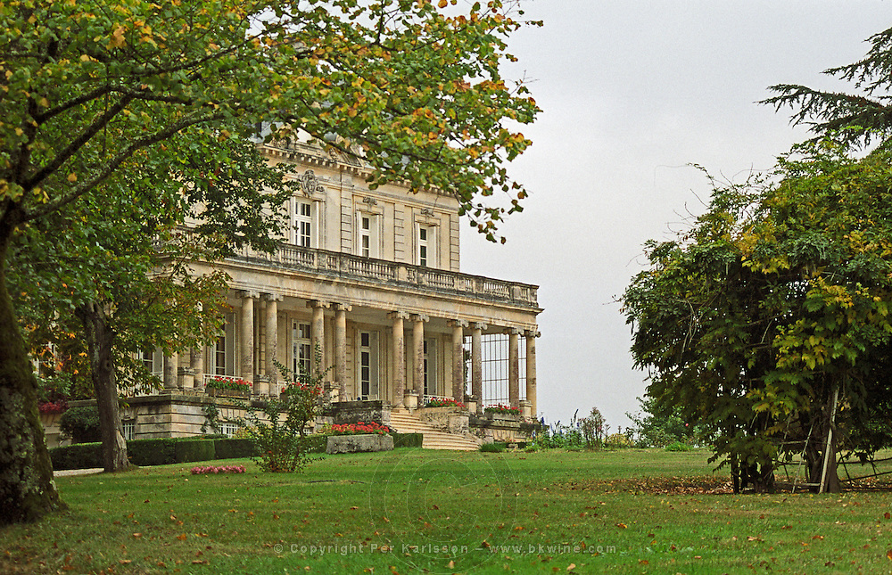 The chateau. Chateau la Tour de By, Medoc, Bordeaux, France