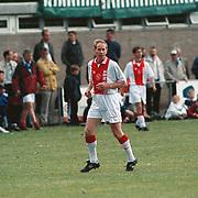 BFC - Ajax oud spelers, Gerrie Muhren voetballend