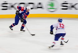 Rok Ticar of Slovenia during ice-hockey match between Great Britain and Slovenia at IIHF World Championship DIV. I Group A Slovenia 2012, on April 15, 2012 in Arena Stozice, Ljubljana, Slovenia. (Photo by Vid Ponikvar / Sportida.com)