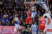 DESCRIZIONE : Campionato 2015/16 Serie A Beko Dinamo Banco di Sardegna Sassari - Consultinvest VL Pesaro<br /> GIOCATORE : Maurice Walker Christian Eyenga<br /> CATEGORIA : Tiro Penetrazione Controcampo Stoppata<br /> SQUADRA : Dinamo Banco di Sardegna Sassari<br /> EVENTO : LegaBasket Serie A Beko 2015/2016<br /> GARA : Dinamo Banco di Sardegna Sassari - Consultinvest VL Pesaro<br /> DATA : 23/11/2015<br /> SPORT : Pallacanestro <br /> AUTORE : Agenzia Ciamillo-Castoria/L.Canu