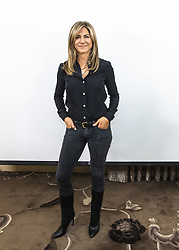 October 22, 2018 - Hollywood, California, U.S. - JENNIFER ANISTON promotes the movie 'Dumplin' in Hollywood. (Credit Image: © Armando Gallo/ZUMA Studio)