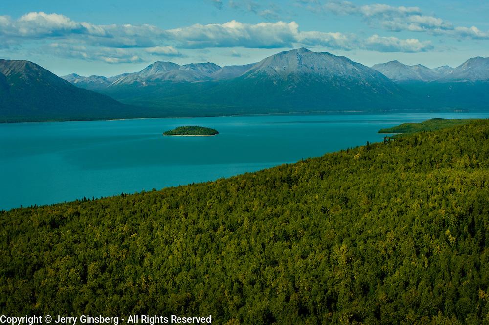 Namesake Lake Clark in Lake Clark National Park, Alaska