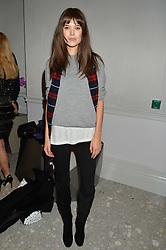 SARAH ANN MACKLIN at the Crisian London Boutique Opening at 41-42 Dover Street, London on 18th November 2014.