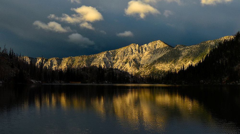 Long Lake in Oregon's Wallowa Mountains.