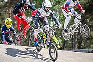 #921 (HARMSEN Joris) NED at Round 5 of the 2018 UCI BMX Superscross World Cup in Zolder, Belgium