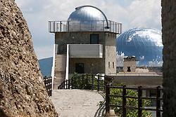 Anzi (PZ) 12.08.2009 Italy - Il Planetario, osservatorio astronomico realizzato in località Santa Maria sul  Monte Siri. Foto Giovanni Marino