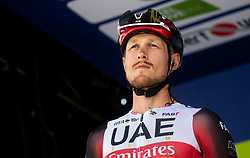 Matteo TRENTIN of UAE TEAM EMIRATES during 1st Stage of 27th Tour of Slovenia 2021 cycling race between Ptuj and Rogaska Slatina (151,5 km), on June 9, 2021 in Slovenia. Photo by Vid Ponikvar / Sportida