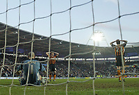 Photo: Andrew Unwin.<br />Hull v Norwich City. Coca Cola Championship. 11/02/2006.<br />Hull cannot believe they've conceded a late equaliser.