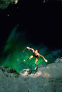 Ngermelt Swimming Hole, Peleliu, Palau, Micronesia,(no model release, editorial use only)<br />