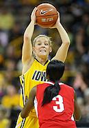 NCAA Women's Basketball - Ohio State at Iowa - January 8, 2011