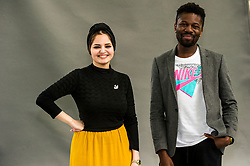 Pictured: Shahad Al Rawi and Michael Donkor<br /> <br /> Shahad Al Rawi is an Iraqi writer, born in Baghdad in 1986. She completed secondary school in Baghdad before moving with her family to Syria, where she obtained an MA in Administration. She is currently studying for a PhD in Anthropology and Administration and lives in Dubai. The Baghdad Clock, her first novel, was published in 2016 and has been translated into English by Luke Leafgren for Oneworld Publications, who will publish it in May this year. <br /> <br /> Donkor was born in London to a Ghanaian household. He completed his bachelor's degree in English at Wadham College, Oxford, as well as a Master's in Creative Writing at University of London. At the University of Oxford he was one of only 21 black students in his year. At the University of London he was supervised by Andrew Motion.<br /> <br /> Ger Harley | EEm 11 August 2018