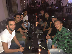 """Mesut Oezil releases a photo on Twitter with the following caption: """"""""Going on a holiday with your best friends is like 🙌🏾<br /> #TeamOzil #crew #vacation #Ozil #m10"""""""". Photo Credit: Twitter *** No USA Distribution *** For Editorial Use Only *** Not to be Published in Books or Photo Books ***  Please note: Fees charged by the agency are for the agency's services only, and do not, nor are they intended to, convey to the user any ownership of Copyright or License in the material. The agency does not claim any ownership including but not limited to Copyright or License in the attached material. By publishing this material you expressly agree to indemnify and to hold the agency and its directors, shareholders and employees harmless from any loss, claims, damages, demands, expenses (including legal fees), or any causes of action or allegation against the agency arising out of or connected in any way with publication of the material."""