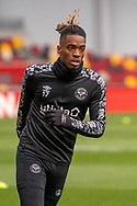 Brentford Forward Ivan Toney (#17) ahead of the EFL Sky Bet Championship match between Brentford and Watford at Brentford Community Stadium, Brentford, England on 1 May 2021.
