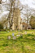 Village parish church of Saint Mary, Hinderclay, Suffolk, England, UK