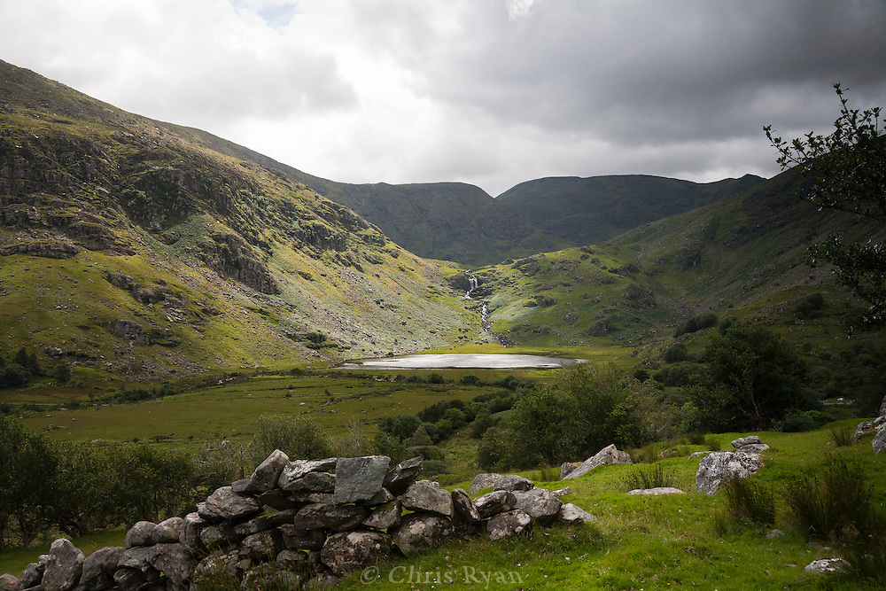 Lake near the Kerry Way in McGillycuddy Reeks, Black Valley, County Kerry, Ireland