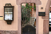 winery wine shop eguisheim alsace france