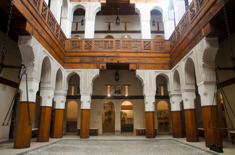 Nejjarine museum of wooden arts and crafts, Fes Morocco