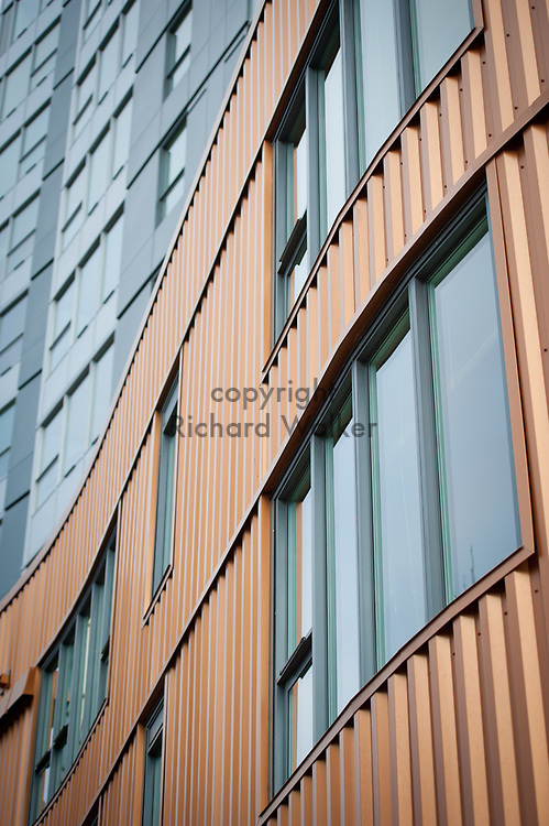 2012 March 30 - Alto Apartments exterior detail in Belltown, Seattle, WA. By Richard Walker